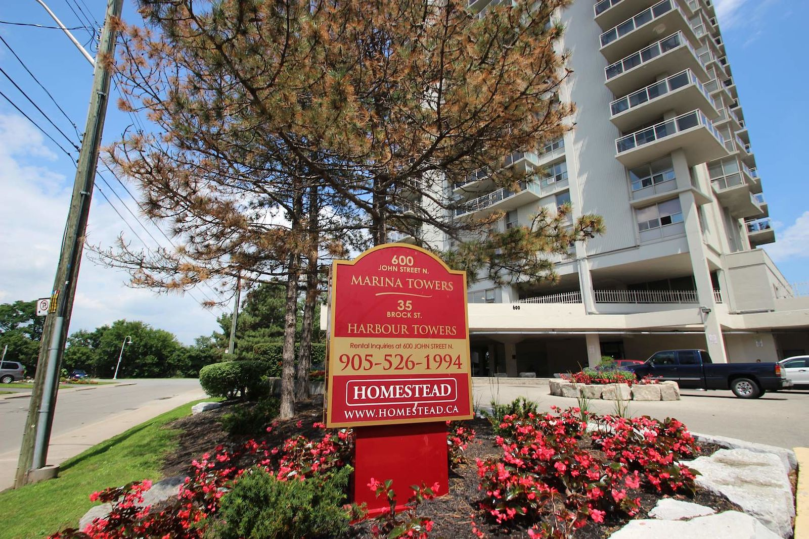 Hamilton Pet Friendly Apartment For Rent | Marina Towers ...